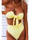 Женский модный купальник с высокими плавками бразильяна