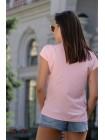 Летняя блузка с V-вырезом