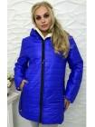 """Зимняя женская удлиненная куртка на овчине """"Polaris"""""""