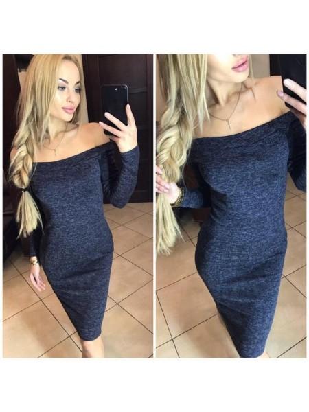 """Платье миди из ангоры """"Alana"""""""