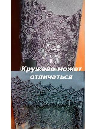 """Молодежные лосины с вставками """"Ажур"""""""