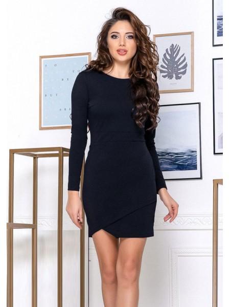 Облегающее платье с рукавом
