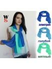 """Женские шифоновый шарф из трех цветов """"Version"""""""
