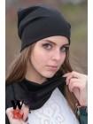 """Женский набор шапка+шарф """"L. Sara"""""""