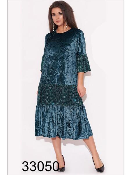 Вечернее платье трапеция