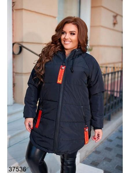 Женская куртка плащевка с утеплителем европух 250