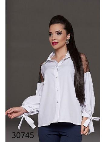 Шикарная блузка с длинным рукавом