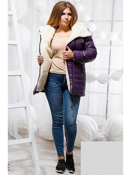 Болонєва зимова куртка на овчині ... c1d0b971dbbc1
