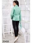 Женская трехцветная куртка с капюшоном осень-весна Ненси