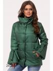 Женская демисезонная куртка с воротником стойка