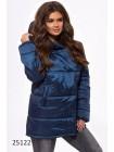 Женская удлиненная куртка с капюшоном на осень-весну