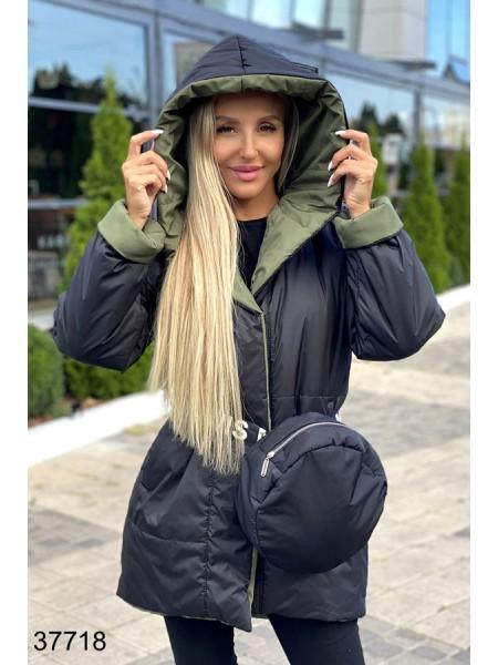 Женская двухсторонняя куртка