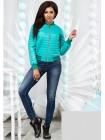 Женская короткая куртка весна-осень 822568-75