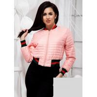 Модная короткая куртка женская
