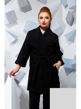 Коротке демісезонне пальто з кашеміру великого розміру Коротке демісезонне  пальто з кашеміру великого розміру acb7ddc813b29