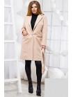 Классическое двубортное пальто на одну пуговицу