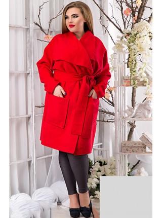 Пальто кашеміру великого розміру з кишенями Пальто кашеміру великого  розміру з кишенями 969c76a3a0077