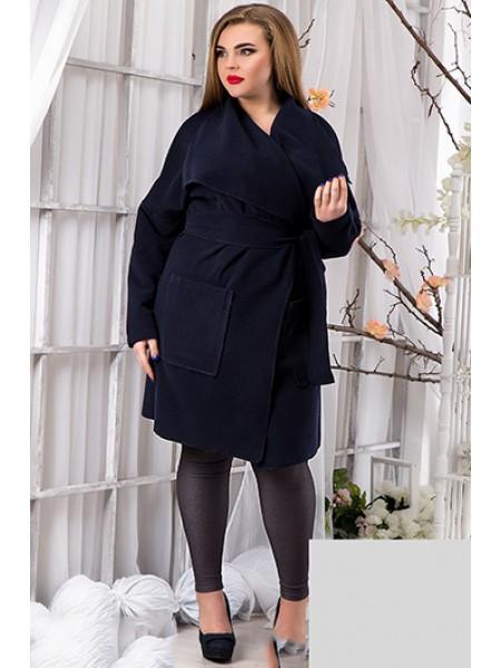 Пальто кашеміру великого розміру з кишенями ... 1cc2ace4f7f89