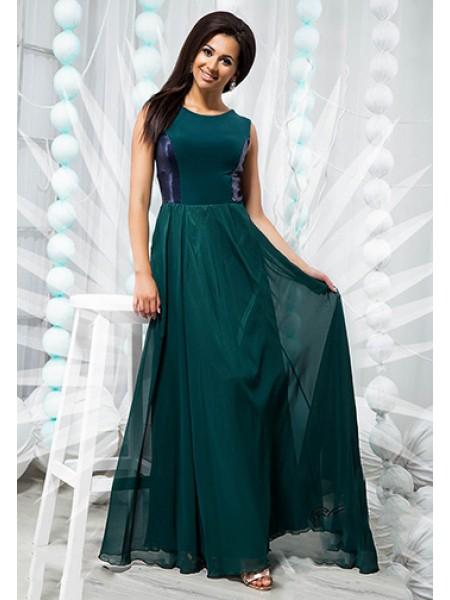 Красива вечірня сукня в підлогу з пайетками 821362-66 ... ca6af015887ef