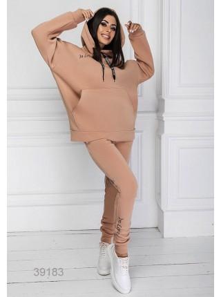 Женский спортивный костюм оверсайз