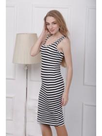 """Облегающее платье тельняшка """"Ребекка"""""""
