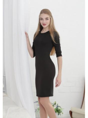 """Женское трикотажное платье """"Илария"""", 8 цветов"""
