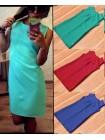Классическое летнее платье Bodycon