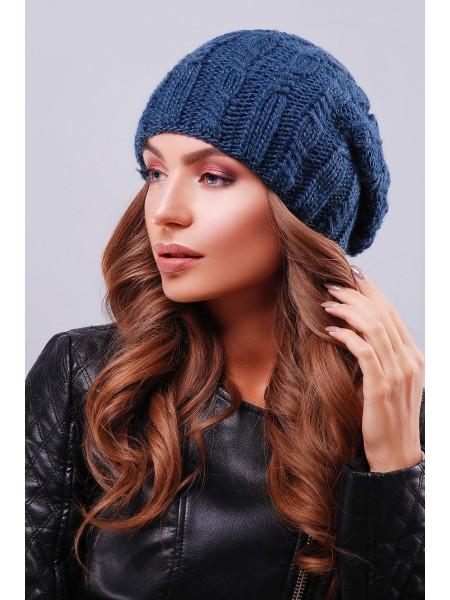 Вязанная шапка - берет  302