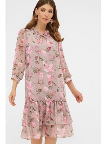Романтичное платье с цветами Элисон