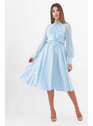Женское платье с бантом Аля