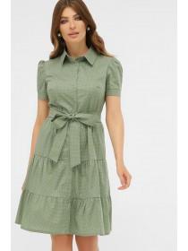 Платье с коротким рукавом Джела