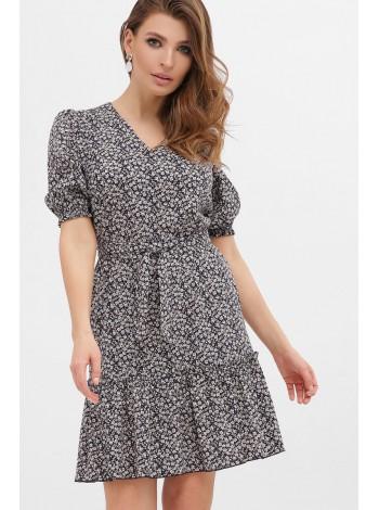 Летнее платье с оборкой Мальвина