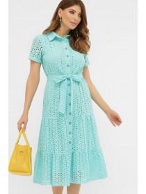 Красивое платье из прошвы Уника
