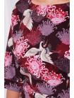 Платье с рисунком аисты Руслана- Б КД