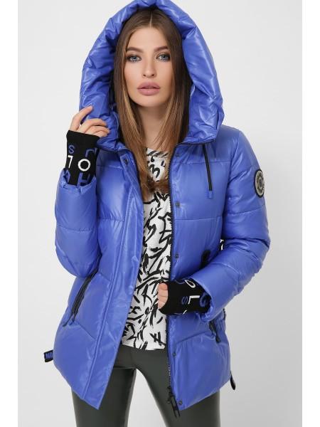 Молодежная куртка с трикотажными манжетами