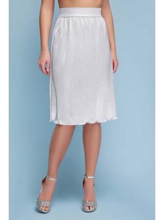 Женская юбка Плиссе длинная