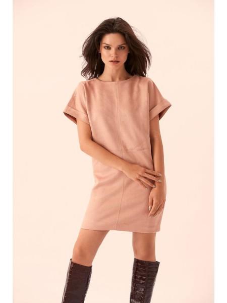 Замшевое платье Амазонка