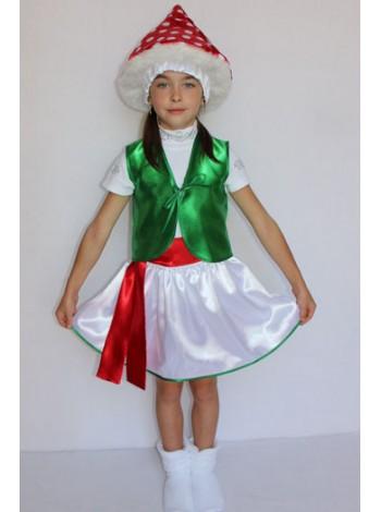 Карнавальный костюм Мухомор №1 девочка