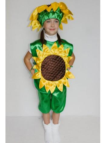Карнавальный костюм Подсолнух №1 девочка