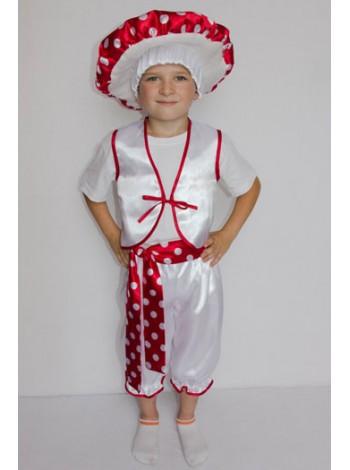 Карнавальный костюм Мухомор №3 мальчик