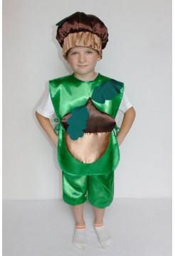 Карнавальний костюм Жолудь  №1 хлопчик
