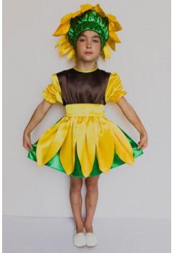 Карнавальний костюм Соняшник №2 дівчинка