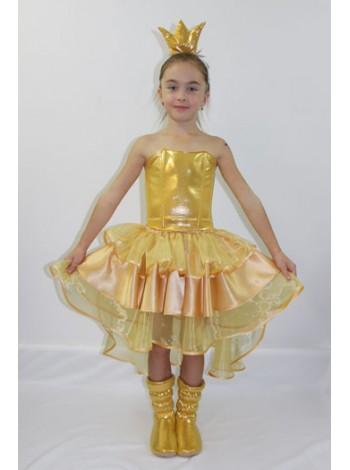 Карнавальный костюм Золотая рыбка №1 девочка