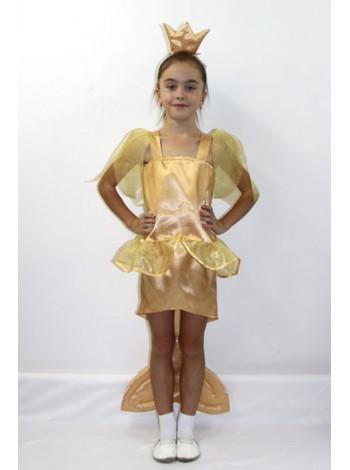 Карнавальный костюм Золотая рыбка №2 девочка