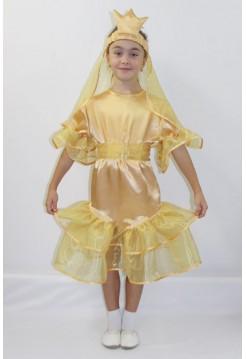 Карнавальный костюм Золотая рыбка №3 девочка