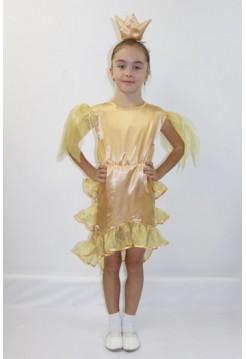 Карнавальный костюм Золотая рыбка №4 девочка
