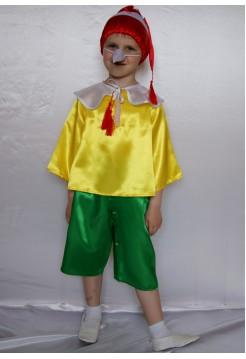 Карнавальный костюм Буратино мальчик