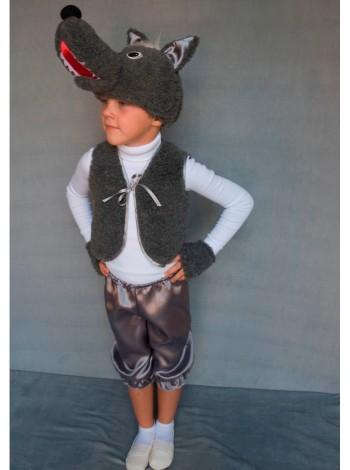 Карнавальный костюм Волк мальчик