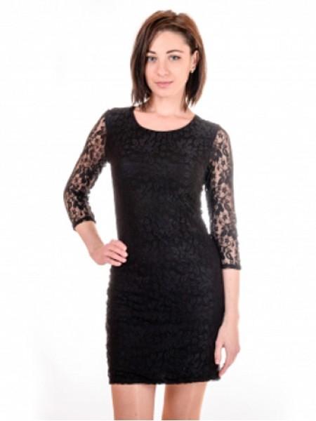Нарядна гіпюрова сукня з рукавом 372d12f2392fa
