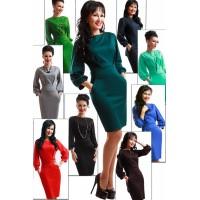 """Классическое женское платье """"Cavalli"""" 9 цветов"""